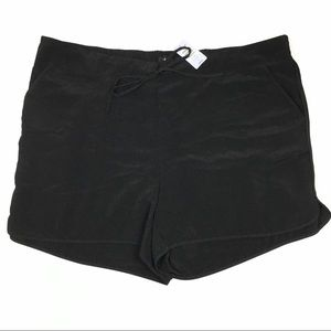 Torrid Black Challis Jog Short